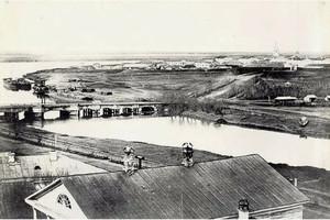 Омская крепость на реке